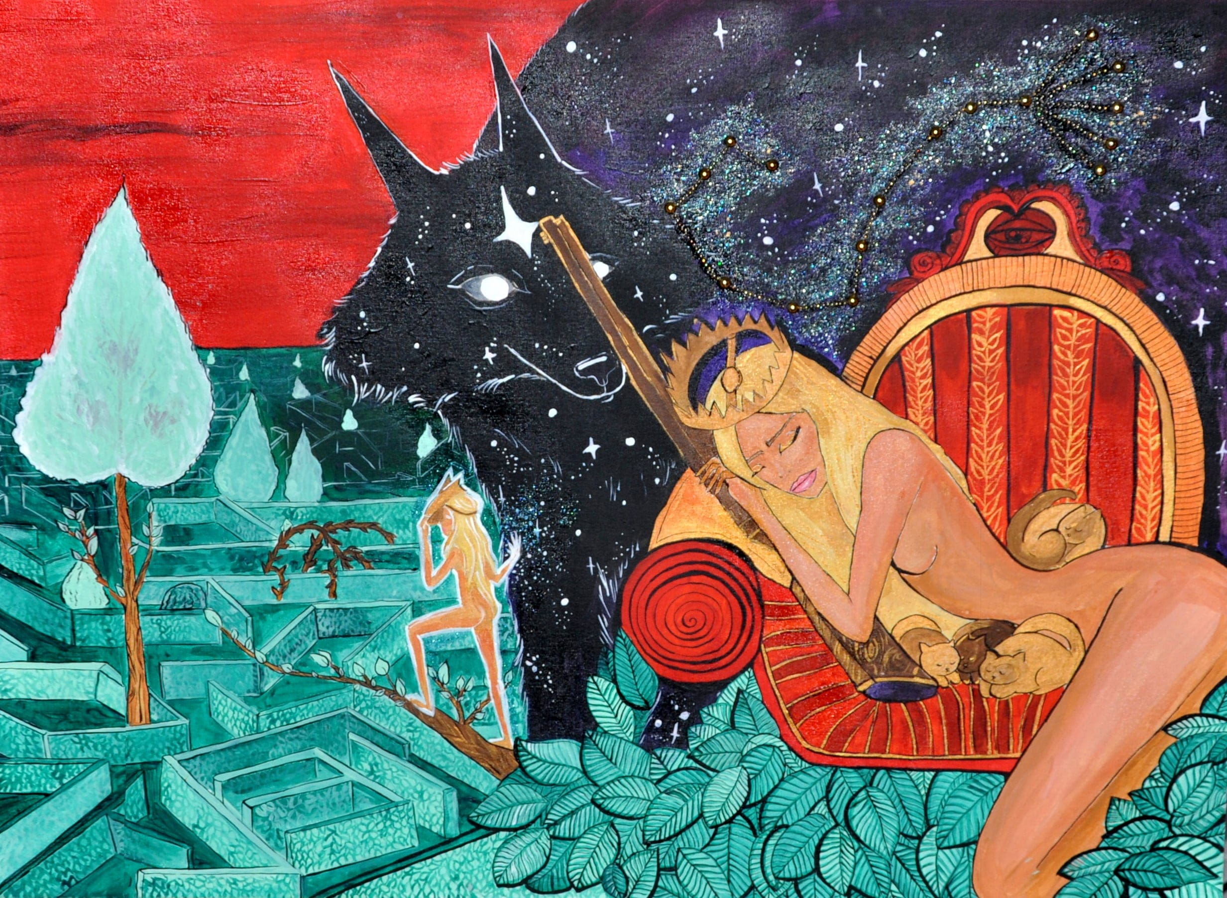 about author Art for sale, Kateryna Fedorova, illustrator, artkatana, art-katana, erotic girls, order art online, new art online1-min-min